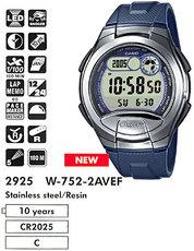 Casio W-752-2AVEF