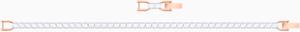 Браслет Swarovski TENNIS 5464948 M