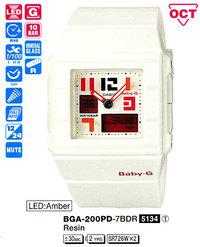 Часы CASIO BGA-200PD-7BER - Дека