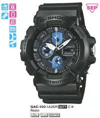 Часы CASIO GAC-100-1A2ER - Дека