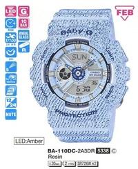 Часы CASIO BA-110DC-2A3ER - Дека