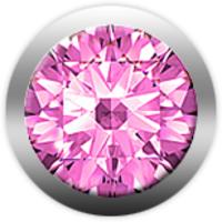 Камень CHRISTINA 146 сапфир розовый - Дека
