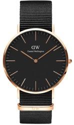 Часы Daniel Wellington DW00100148 Black Cornwall 40 - Дека