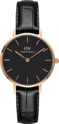Часы Daniel Wellington DW00100223 Classic Petite 28 Reading RG Black - Дека